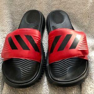 Adidas men's Alphabounce slides. Size 10.